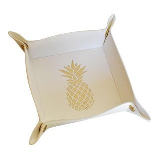 White Pineapple Tray