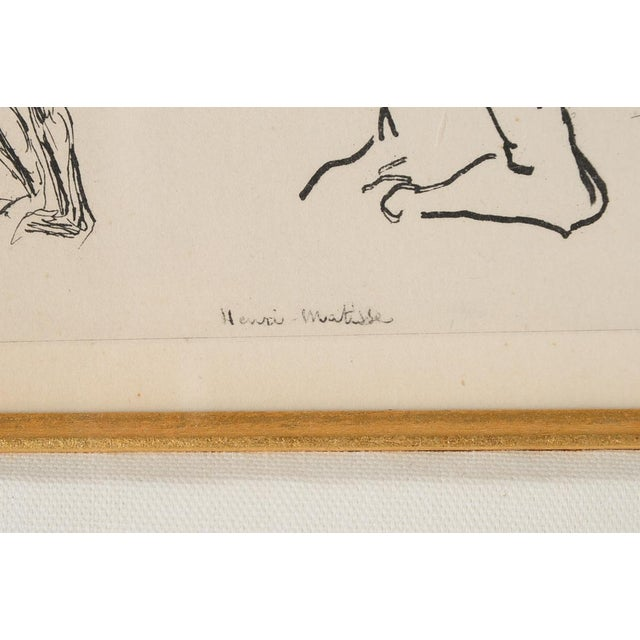 """Matisse """"Planche 2"""" Portrait of a Woman Lithograph - Image 6 of 10"""