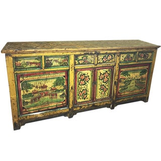 Beautiful Chinese Cabinet Sideboard Credenza For Sale