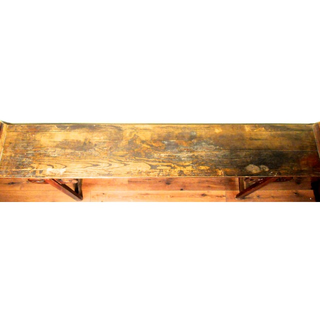 Antique Chinese Ming Altar Table, 1800-1849 For Sale - Image 10 of 11
