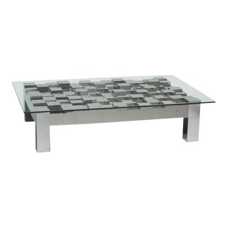 Flash Rectangular Coffee Table For Sale