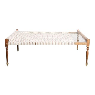 Bunakara Small Laurel Indian Daybed For Sale