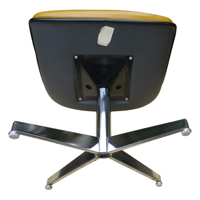 Vintage Steelcase Swivel Chairs - A Pair For Sale - Image 10 of 13