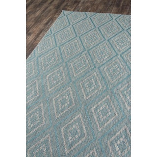 "Madcap Cottage Lake Palace Rajastan Weekend Light Blue Indoor/Outdoor Area Rug 5'3"" X 7'6"" Preview"