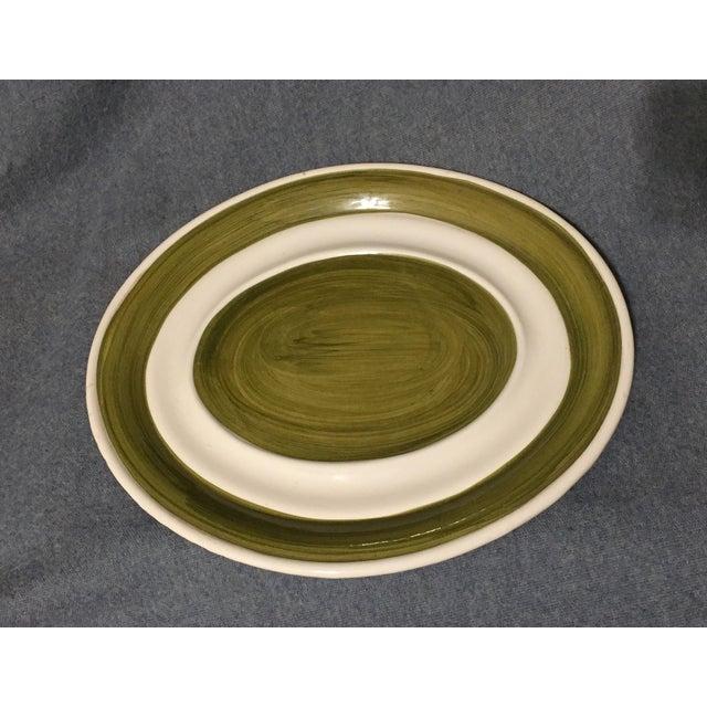 Green Vintage Majolica Mushroom Soup Tureen For Sale - Image 8 of 13