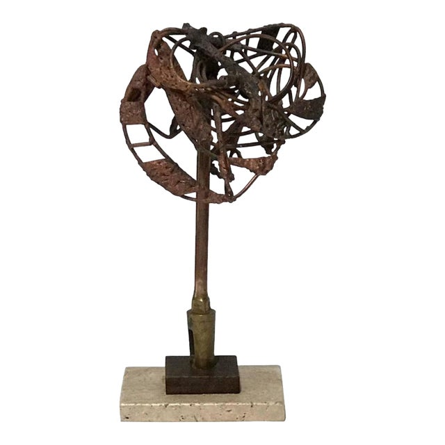 Brutalist George Mullen Sculpture For Sale