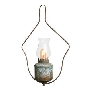 One-Of-A-Kind Single Light Hall Lantern For Sale