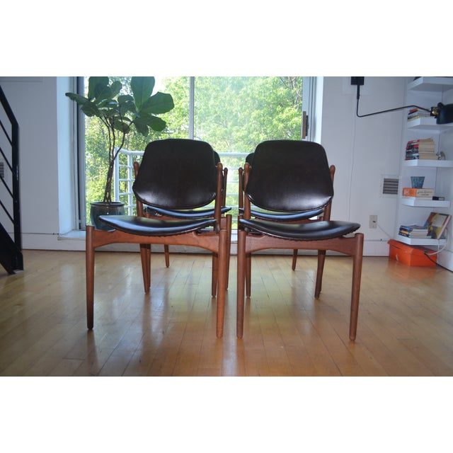 Arne Vodder Mid-Century Chairs - Set of 4 - Image 2 of 9