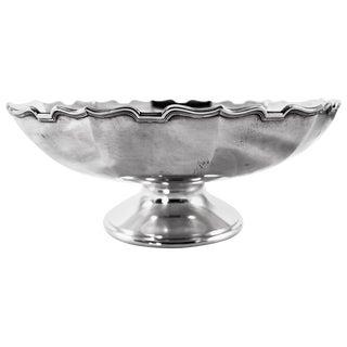 Sterling Bowl on Pedestal For Sale