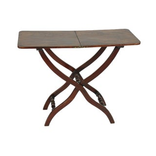 Handsome Mahogany Coach Table, English Circa 1800 For Sale