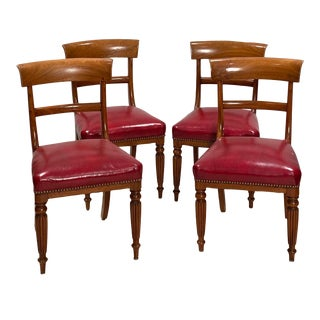 Regency Side Chairs - Set of 4 For Sale