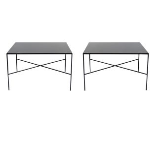 Pair of Luke X Base Tables For Sale