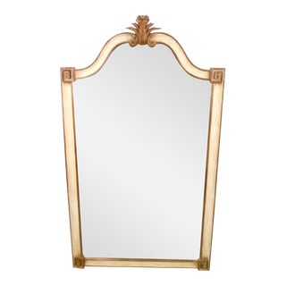 Italian Hand Carved Wooden Mirror