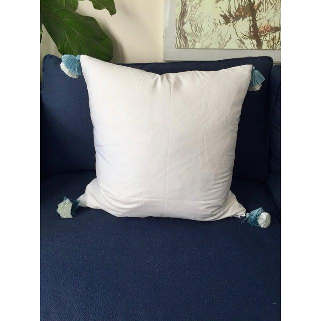 Boho Chic Custom Galbraith & Paul Little Lotus Pillow Cover For Sale - Image 3 of 5