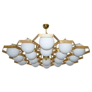 Honeycomb Chandelier by Fabio Ltd For Sale