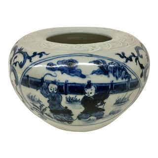 Antique Chinese Qing Planter Vase For Sale