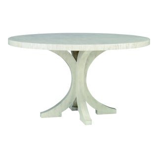 Century Furniture Carlyle Round Dining Table, Peninsula Finish For Sale