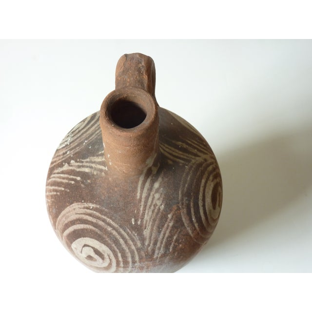 Rustic Terra Cotta Jug For Sale - Image 4 of 4