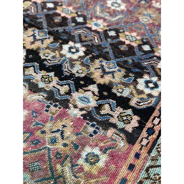 "Vintage Persian Hamadan Rug - 3'4"" x 5'5"" - Image 7 of 10"