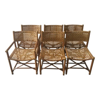Rattan Dining Chairs by Maguire