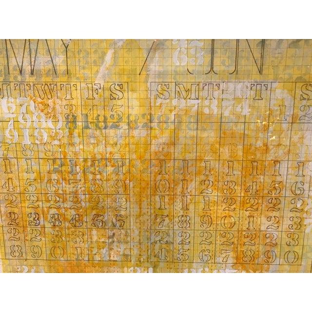 Listed Artist Darryl Nettles Painting - Calendar #1 - Image 5 of 9