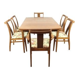 Vintage Carved Wood Dining Suite