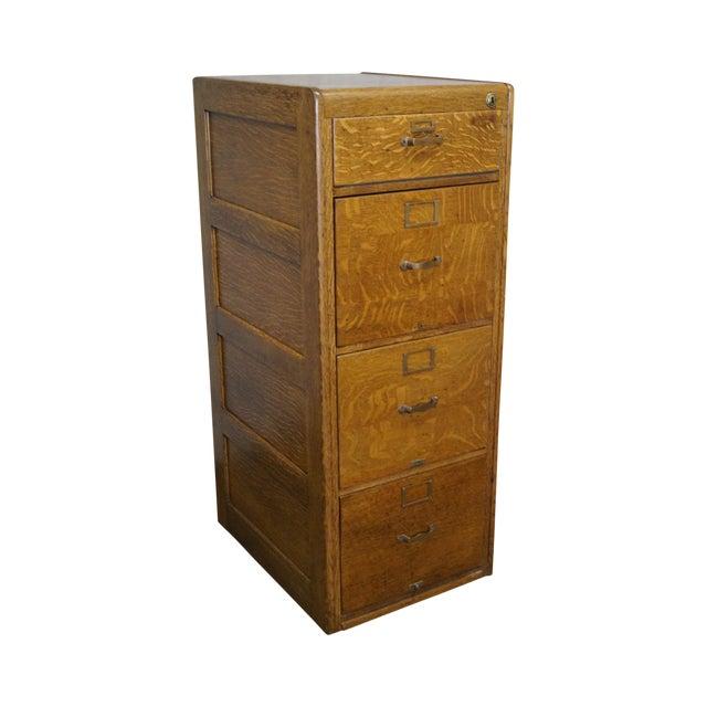 Antique Oak File Cabinet by Library Bureau - Antique Oak File Cabinet By Library Bureau Chairish