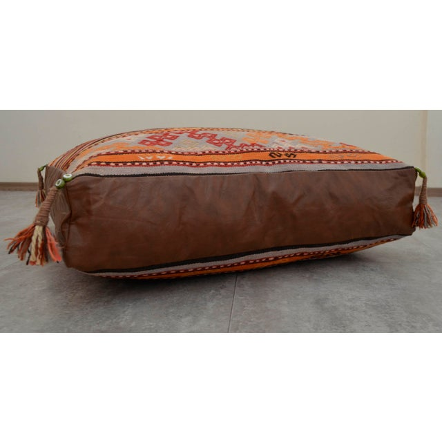 Turkish Hand Woven Floor Cushion Cover - 30? X 30? Chairish