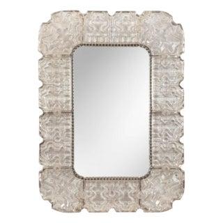 CARL FAGERLUND Mirror for Orrefors Glasbruk Sweden, ca. 1950 For Sale