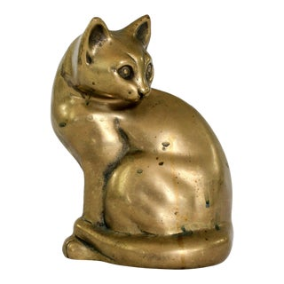 Brass Cat For Sale
