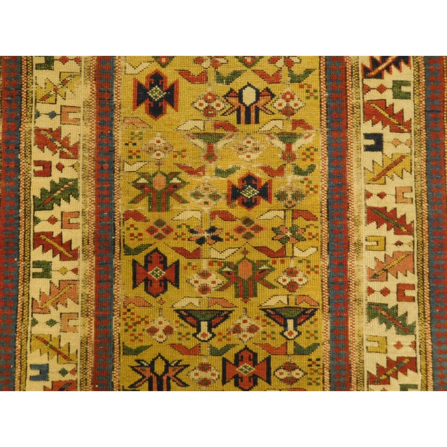 1900s Antique Caucasian Shirvan Runner For Sale In Los Angeles - Image 6 of 13