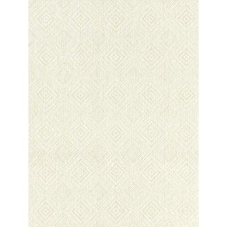 Sample, Scalamandre Antigua Weave, Alabaster Fabric For Sale