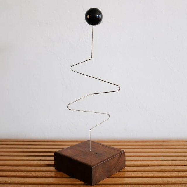 Mid-Century Modern Kinetic Sculpture by Donald Max Engelman, 1960s For Sale - Image 3 of 8