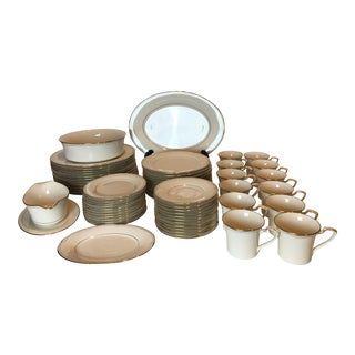 Noritake Golden Cove Dinnerware - 64 Pc. Set For Sale