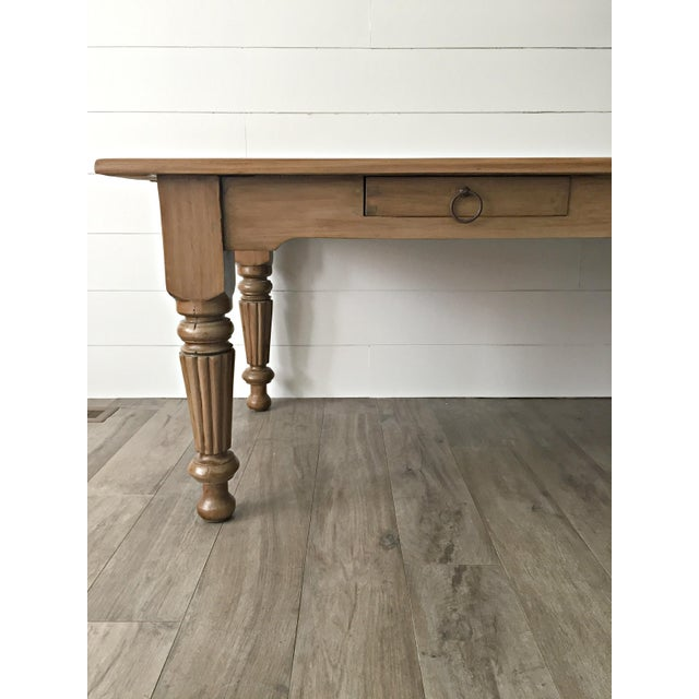 Rustic Farmhouse Dining Table - Image 7 of 10