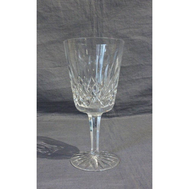Mid-Century Modern 1950s Waterford Lismore Water Goblets - Set of 12 For Sale - Image 3 of 5