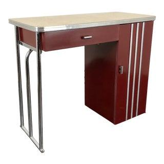 1930s Gilbert Rohde Art Deco Writing Desk For Sale