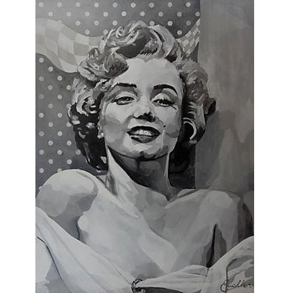 Marilyn Monroe by Marten Euchler For Sale