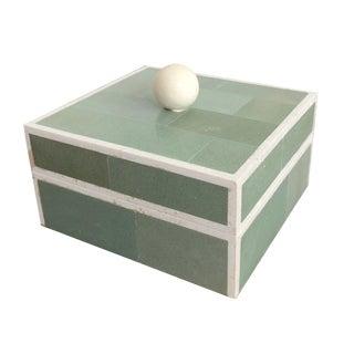 Maitland Smith Tessellated Stone Trinket Box