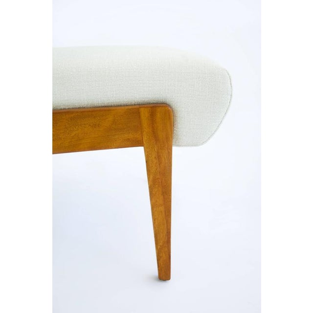 White Risom Armless Lounge Chair For Sale - Image 8 of 10