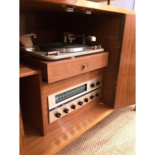 Mid-Century Modern Stereo Cabinet & Dry Bar - Image 6 of 9
