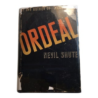 """1939 Nevil Shute First Edition """"Ordeal"""" Book"""