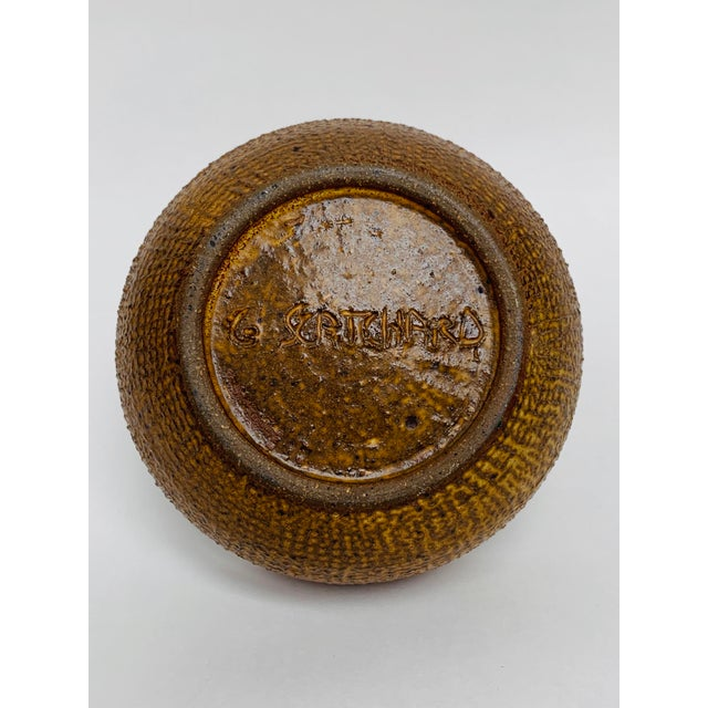 George Scatchard Mid Century Modern Studio Pottery Bowl For Sale In New York - Image 6 of 10