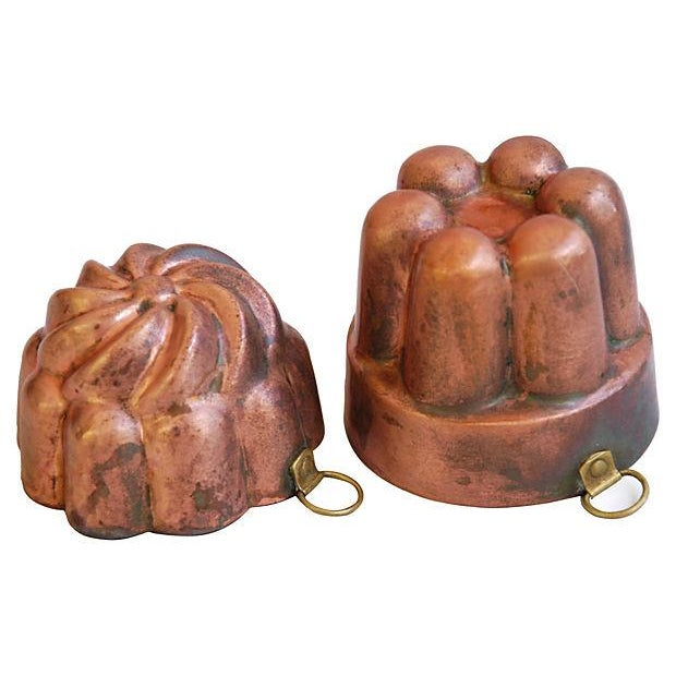 Collection of 1960s Copper Molds - Set of 4 - Image 6 of 7