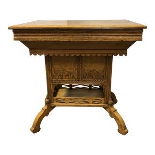 Antique Forest Furntiure the Ross Patented Table Wash Stand For Sale