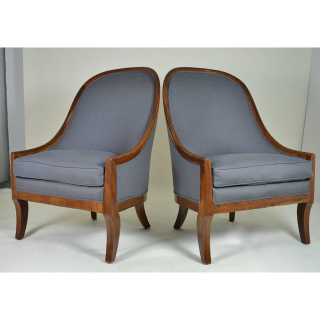 Spoon Back Chairs by Baker Furniture - Image 3 of 9
