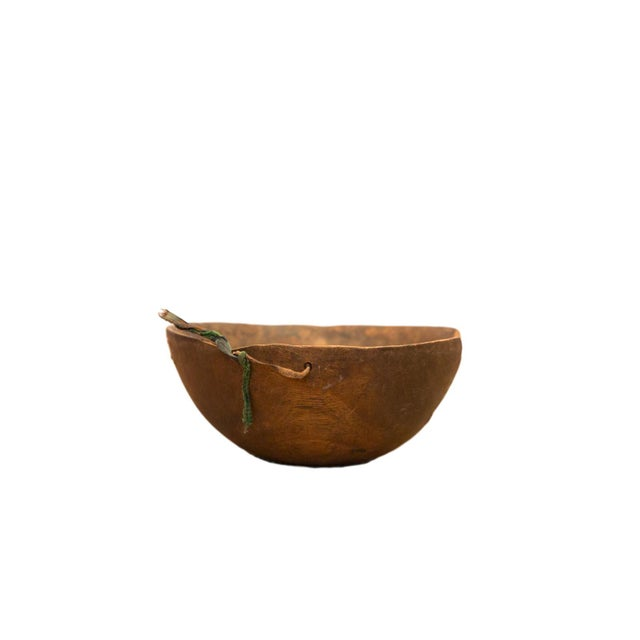 Vintage Wooden African Bowl For Sale In New York - Image 6 of 6