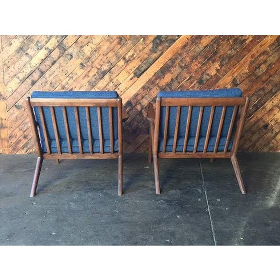 Mid Century Custom Selig Style Z Chair - Image 4 of 6