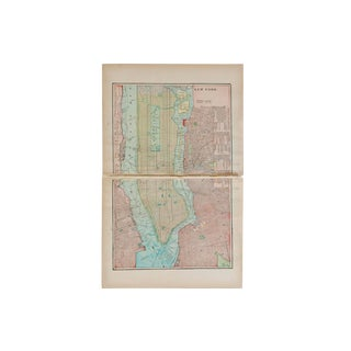 Cram's 1907 Map of New York City For Sale