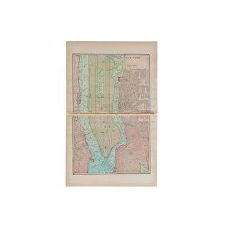 Cram's 1907 Map of New York City